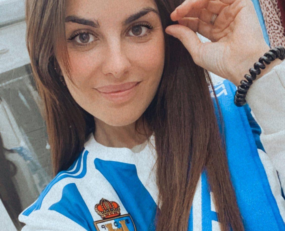 Alexia Rivas lucirá en Supervivientes la camiseta de la Ponferradina 1