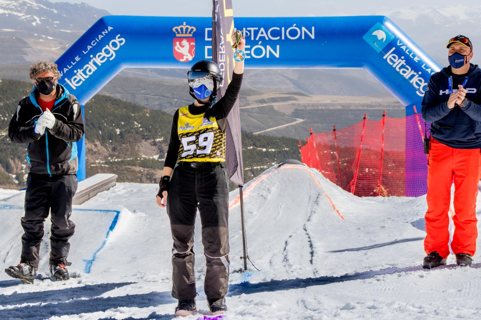 Las estaciones de esquí de la Diputación registran 3.780 usuarios el fin de semana 1