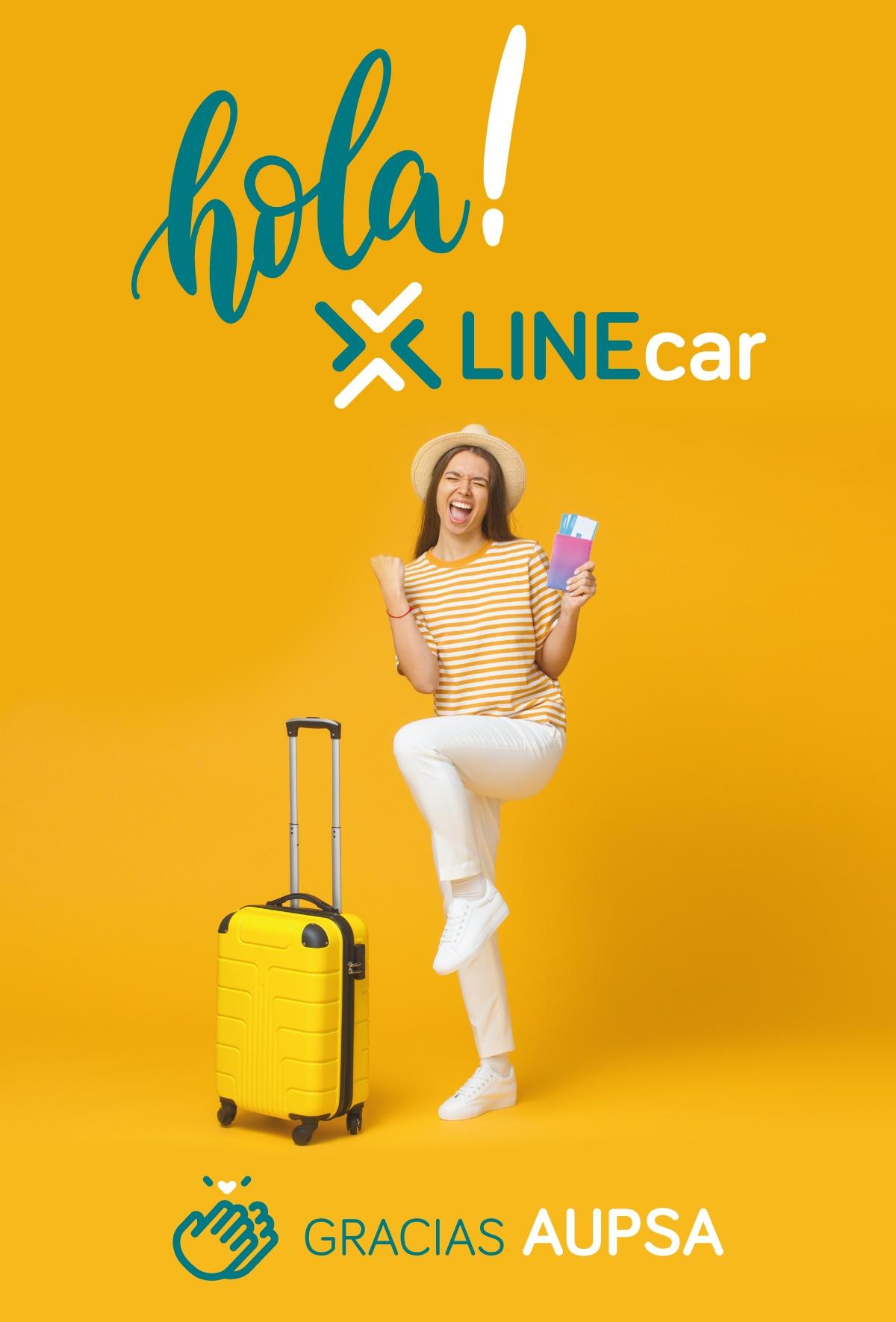 La firma berciana Aupsa da la bienvenida a su nueva marca LINEcar. Hola LINEcar, Gracias AUPSA 3