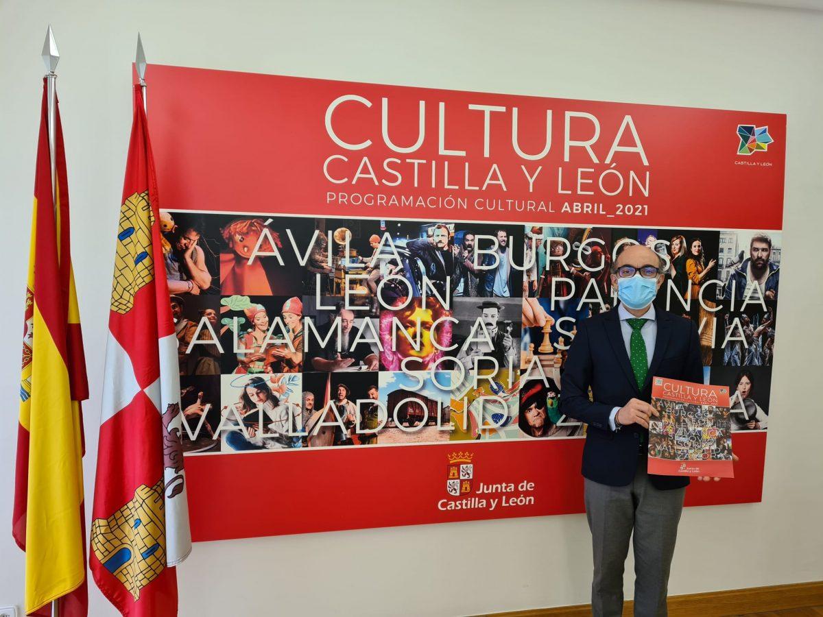 La Junta ofrece más de 750 actividades culturales para el mes de abril con una intensa programación teatral, nuevas propuestas expositivas en los Museos y actividades con motivo del Día del Libro 1