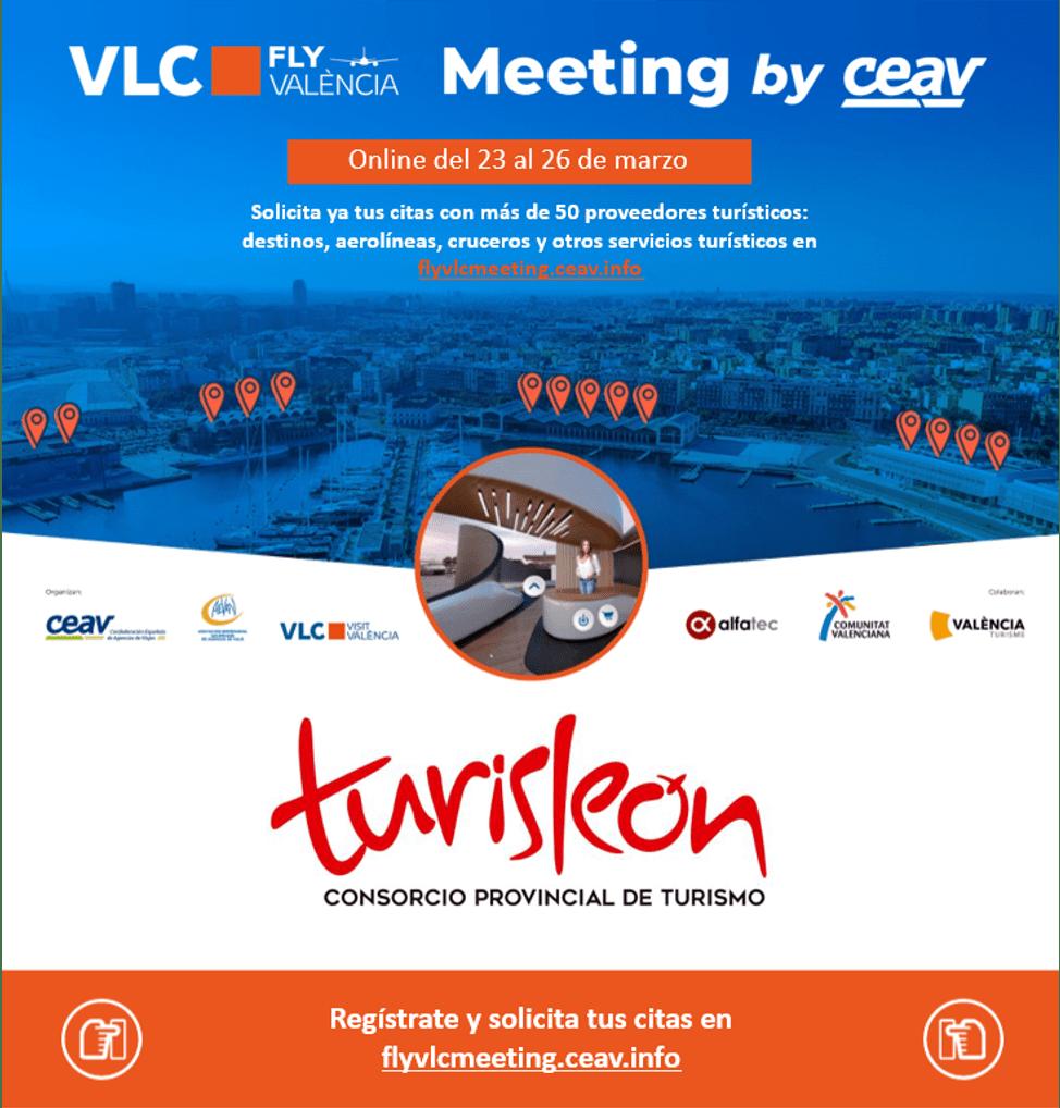 Turisleón promociona la provincia como destino turístico entre las agencias de viajes 1