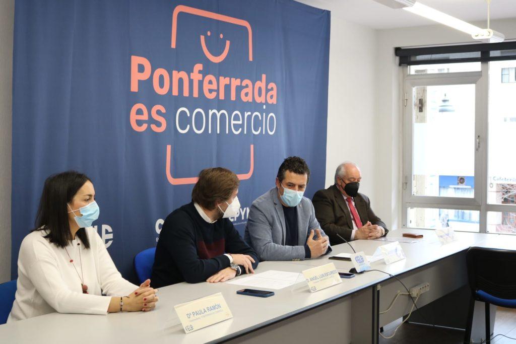 Nace la asociación de comerciantes Ponferrada Es Comercio para impulsar el desarrollo económico de la ciudad 1