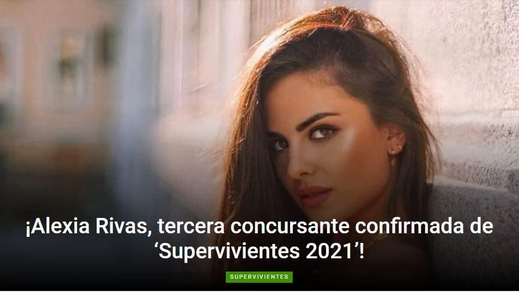 La ponferradina Alexia Rivas, tercera concursante confirmada para el reality de Telecinco 'Supervivientes' 1