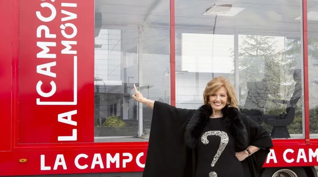 La primera invitada de la 'Campos móvil', será la presidenta de la Comunidad de Madrid, Isabel Díaz Ayuso 1