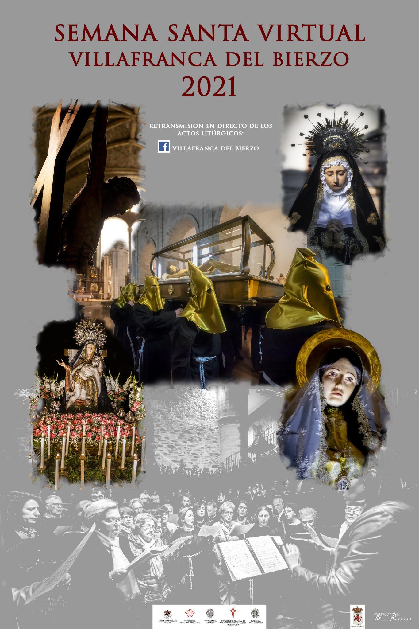 Villafranca del Bierzo vuelve a vivir su histórica Semana Santa de manera virtual 2