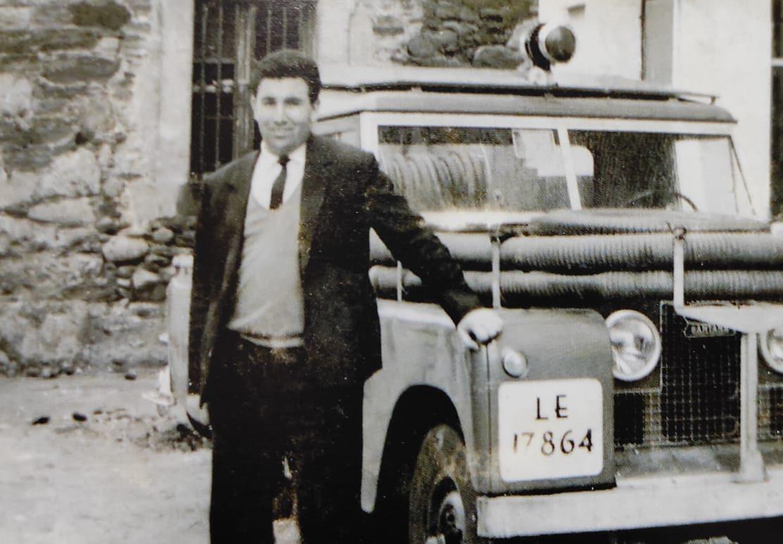 Fallece Domiciano Arias, jefe de bomberos de Ponferrada hasta 1995 1