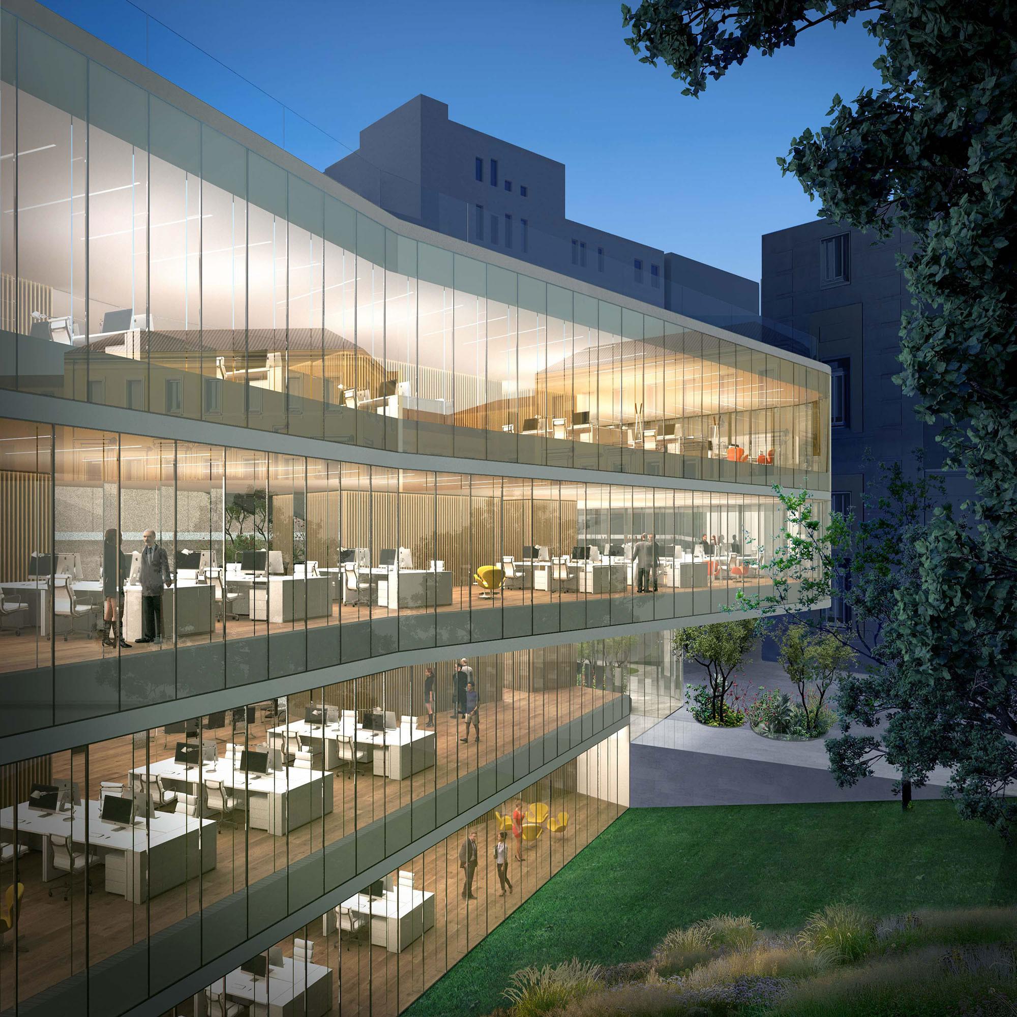 La cristalera berciana Tvitec vestirá con vidrios ecoeficientes la nueva sede de la lujosa Luxottica en Milán 3