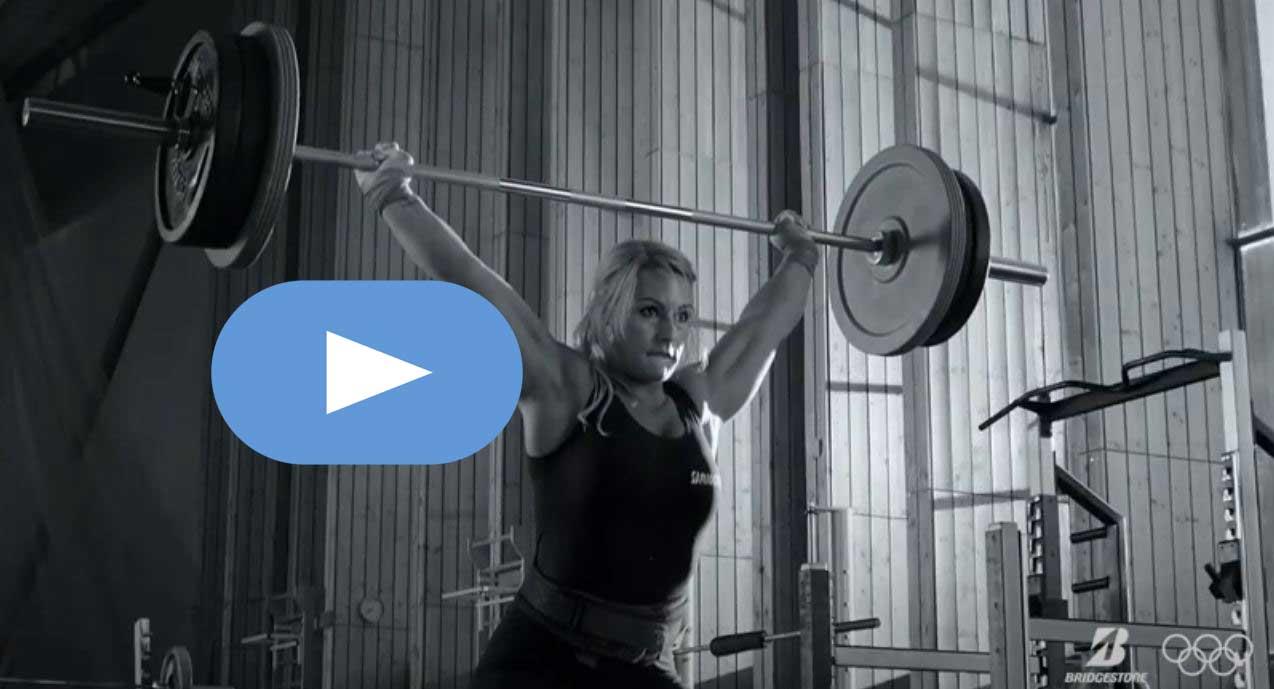 Lydia Valentín protagoniza el anuncio de Bridgestone para los juegos olímpicos 1