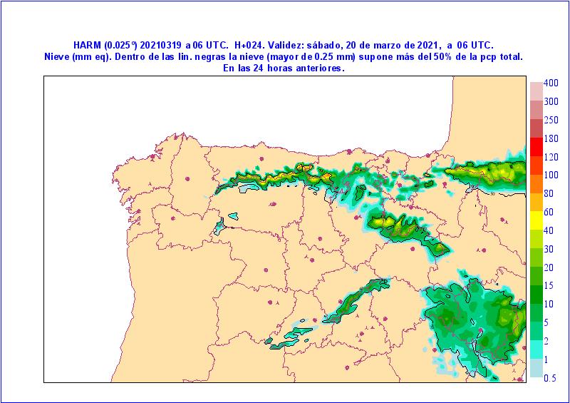 Viento y nieve para el fin de semana en Castilla y León 2