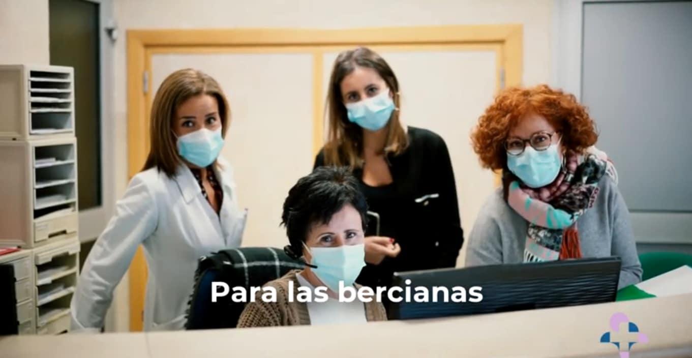 Recoletas incorpora a su vídeo homenaje a la mujer, a sus trabajadoras de Clínica Ponferrada 1