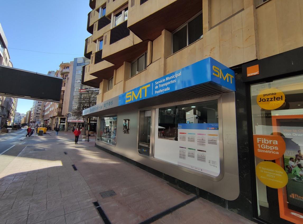 El SMT de Ponferrada comienza a recorrer las calles de la ciudad 2