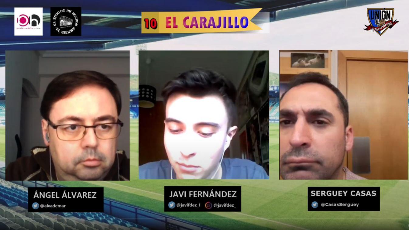 VÍDEO | Tertulia con Unión Deportivista, la actualidad de la SD Ponferradina a debate 1