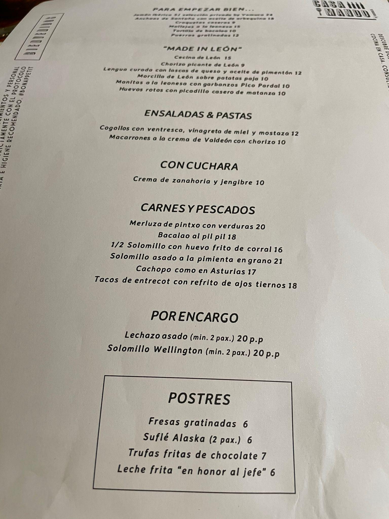 Reseñas gastronómicas: Restaurante Casa Mando de León 5