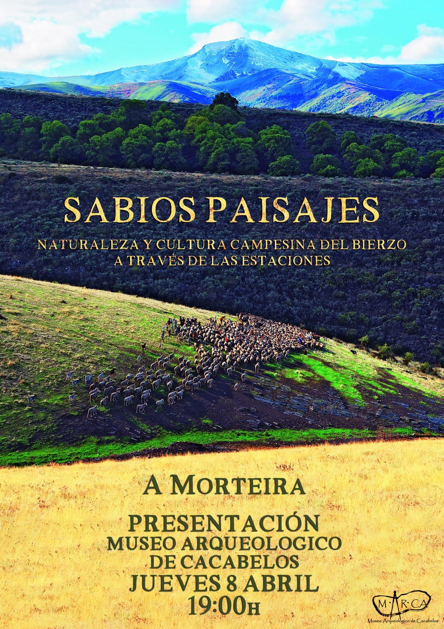"""Presentación en el MARCA de Cacabelos del libro """"SABIOS PAISAJES"""" 1"""
