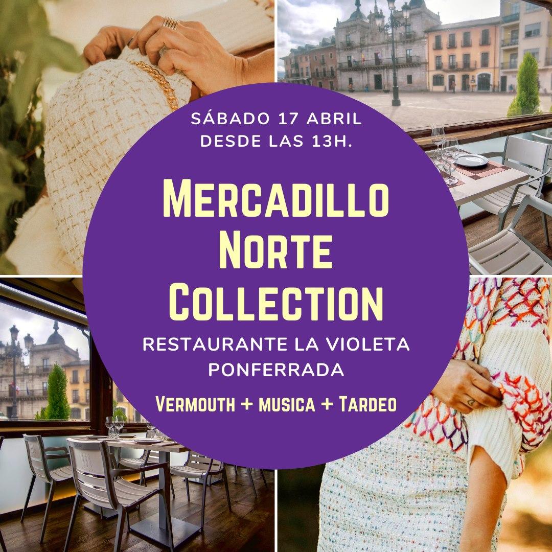 El Restaurante La Violeta organiza el sábado un Mercadillo de la marca Norte Collection 1