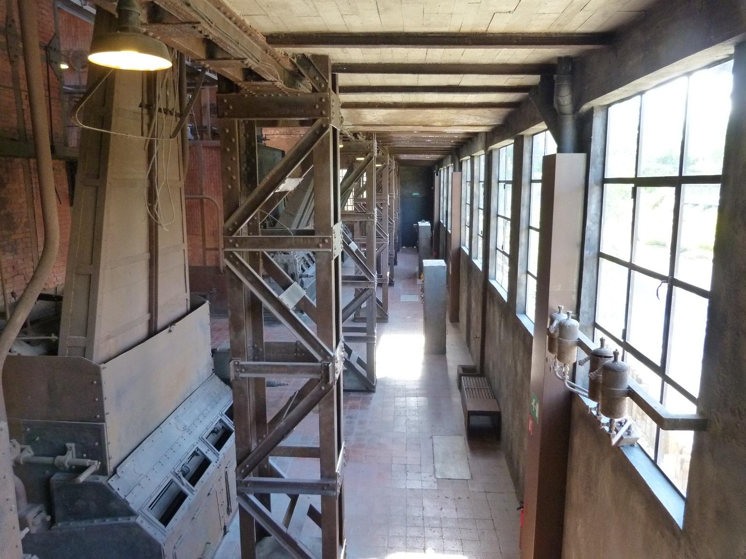 EL Museo de la Energía organiza una yincana en la nave de calderas 1