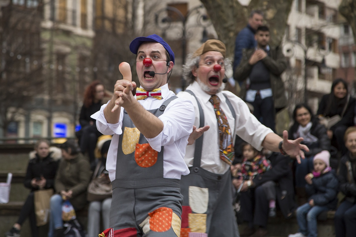 "Teatro La Sonrisa usa el lenguaje clown en el divertido montaje familiar ""Bricomanazas"" 1"