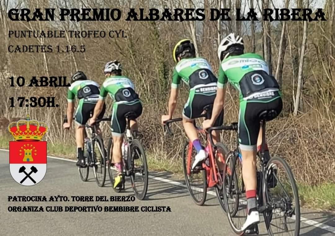 Este sábado se celebrará la 1ª edición del Gran Premio Ciclista de Albares de la Ribera 2