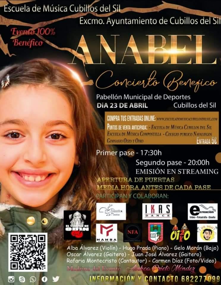La Escuela de música de Cubillos organiza un concierto para recaudar dinero que ayude al tratamiento oncológico de Anabel 2
