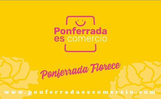 Ponferrada Es Comercio activa la campaña 'Ponferrada Florece' para fomentar el comercio local en el Día de la Madre 1