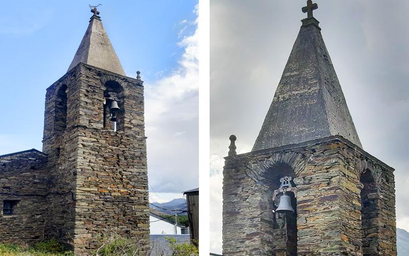 Luz verde a la restauración de la torre de la Ermita de la Virgen del Carmen en La Baña y al cierre de los restos arqueológicos del patio del Castillo Viejo de Ponferrada 1