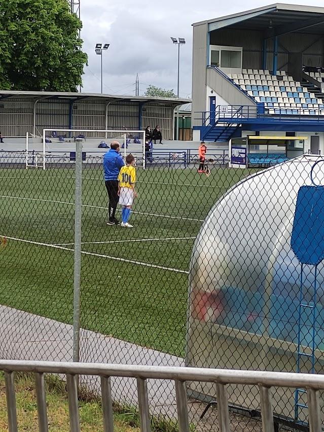 Liga Volvmos de Fútbol Base. Jornada del 20 de junio 2021 1