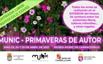 EL museo MUNIC de Carracedelo conmemora el Dia Mundial del Libro con la I Edición PRIMAVERAS DE AUTOR los días 23, 24 y 25 de abril 10