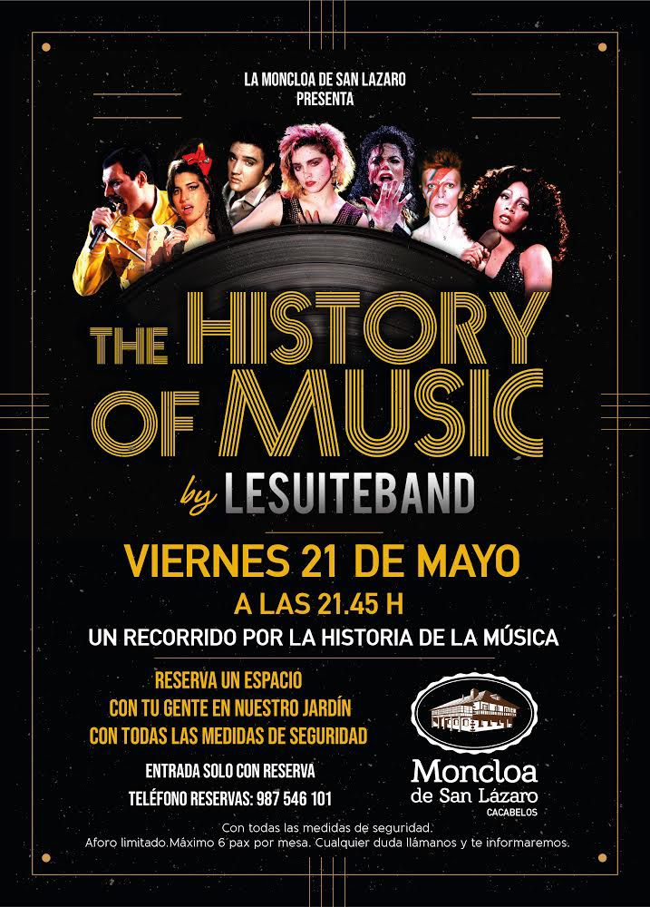 La Suite Band regresa este viernes a la terraza de La Moncloa para repasar la historia de la música 3