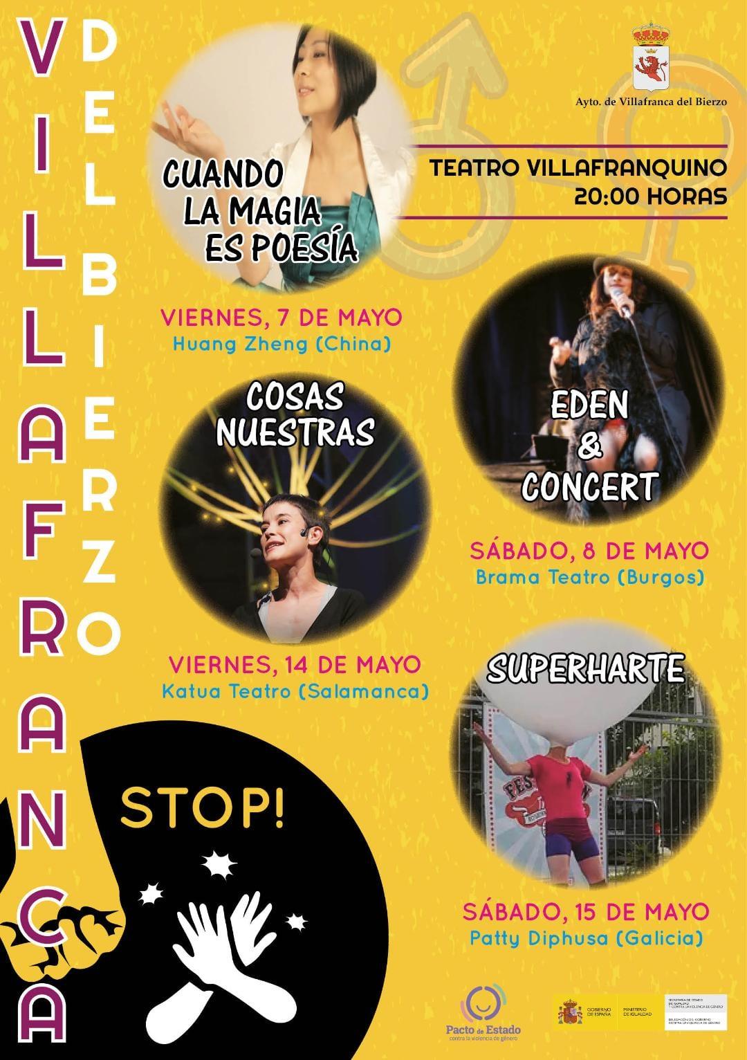 Villafranca organiza en el Villafranquino un ciclo de Teatro contra la violencia de género 1