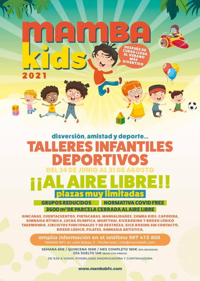 Campamentos y Campus de verano 2021 en Ponferrada y El Bierzo 1
