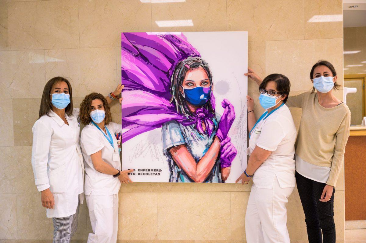 Clínica Ponferrada rinde un homenaje a sus enfermeras, enfermeros y auxiliares en el día Internacional de la Enfermería 1