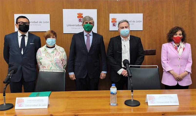 El Campus de Ponferrada firma tres convenios de colaboración 1