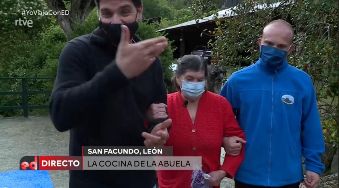 El chef Sergio Fernández interviene en directo desde San Facundo para anunciar su nueva sección en 'España Directo' 1