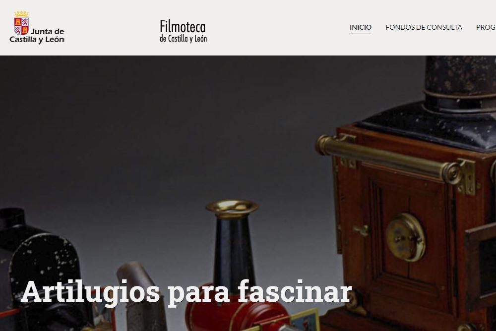 La Filmoteca de Castilla y León estrena un nuevo diseño de página web más eficaz y con nuevos contenidos 1