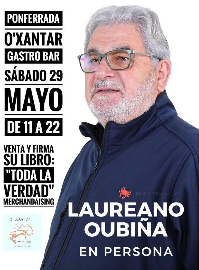 El ex-narco Laureano Oubiña firmará en Ponferrada su libro 'Oubiña, Toda la verdad' 3