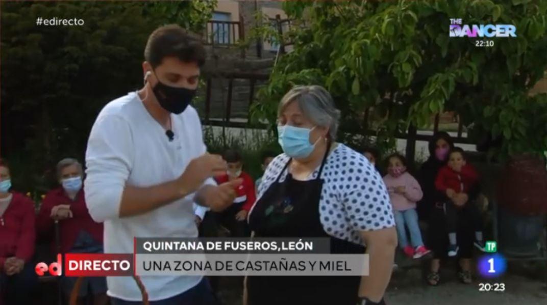 'España Directo' se abona al Bierzo, Hoy en Quintana de Fuseros 1