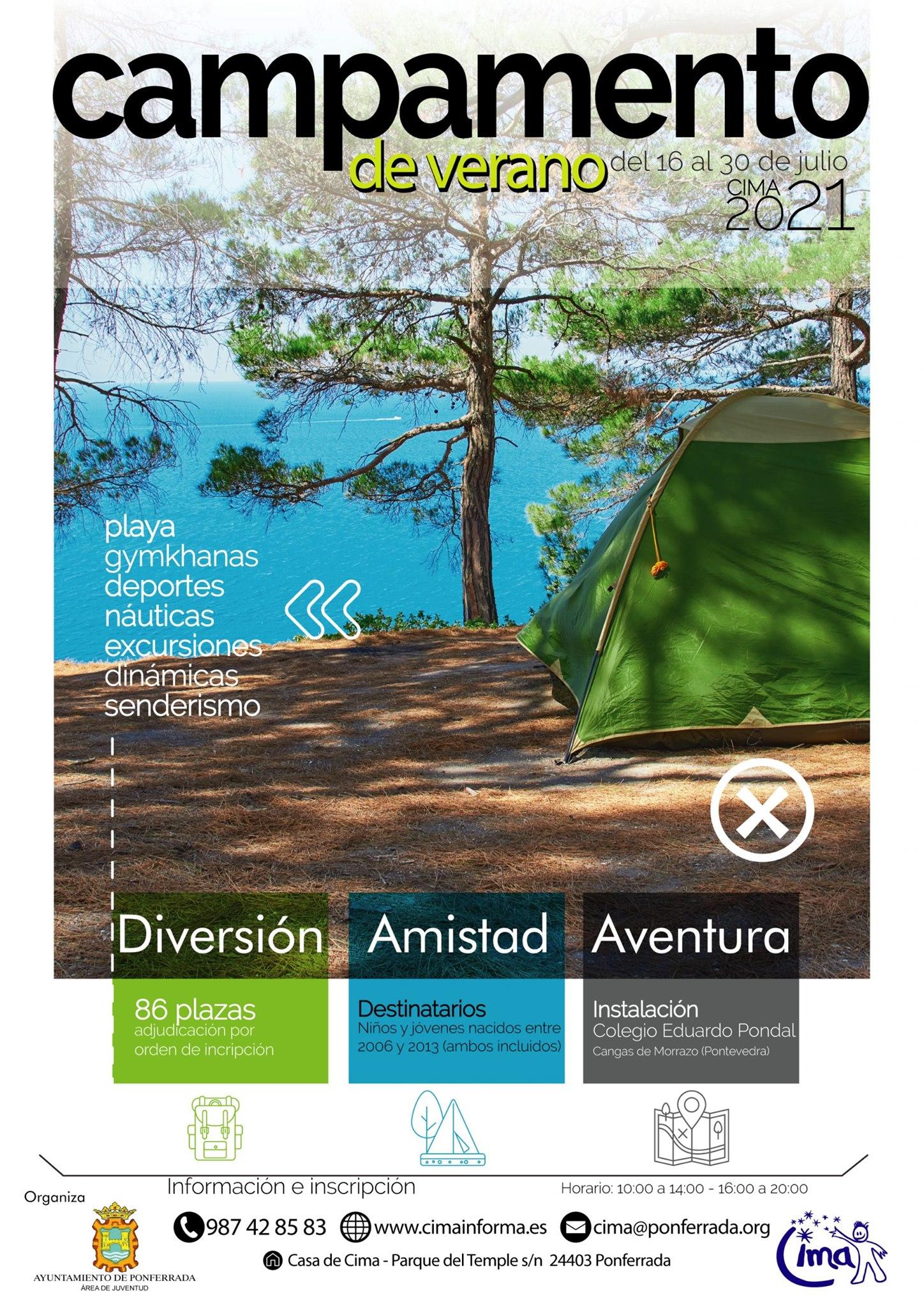 Campamentos y Campus de verano 2021 en Ponferrada y El Bierzo 16