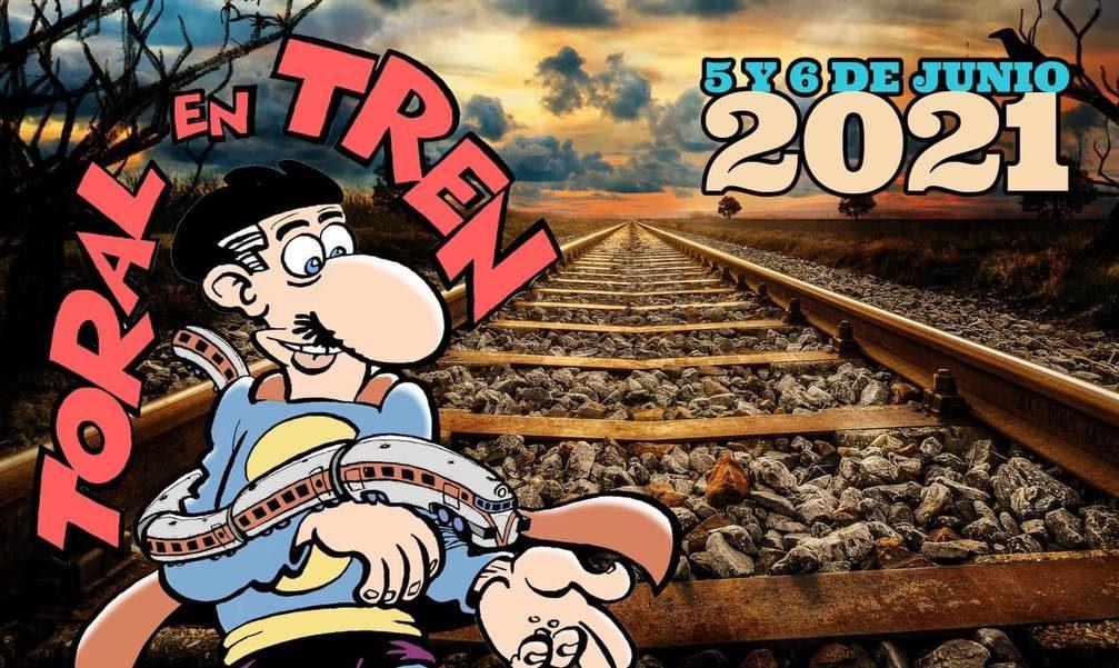 'Toral en tren 2021' vuelve a Toral de los Vados este fin de semana 1