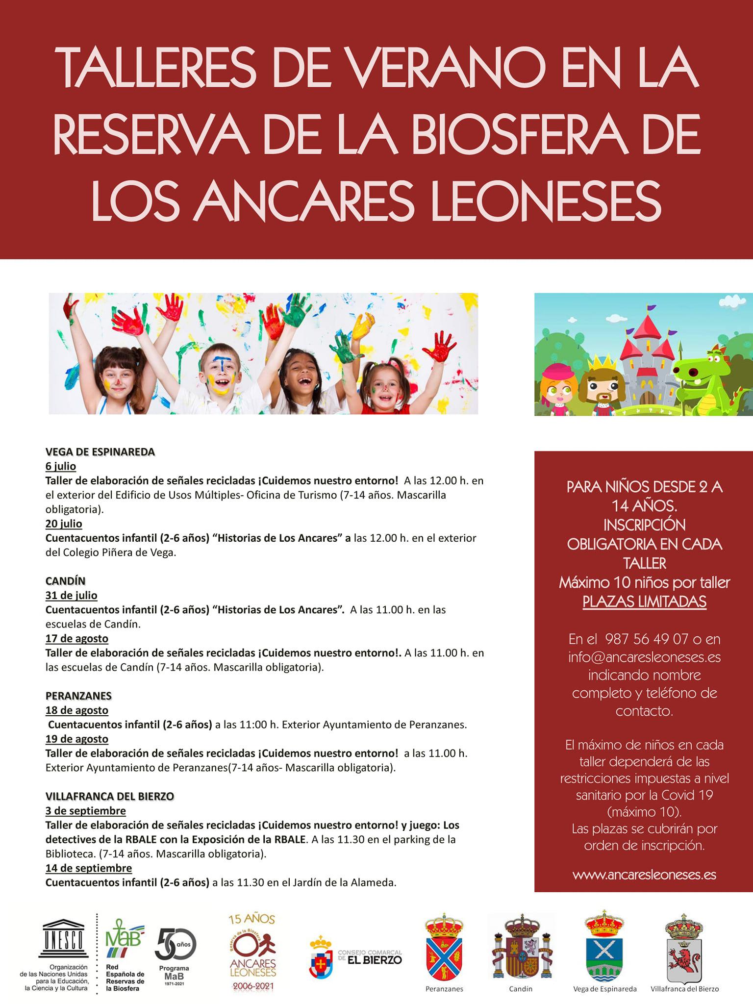 Campamentos y Campus de verano 2021 en Ponferrada y El Bierzo 11