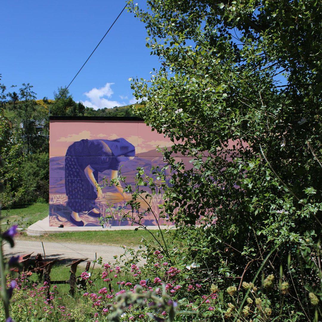 Quintana de Fuseros se llena de arte urbano de la mano de Street Air Bierzo 4