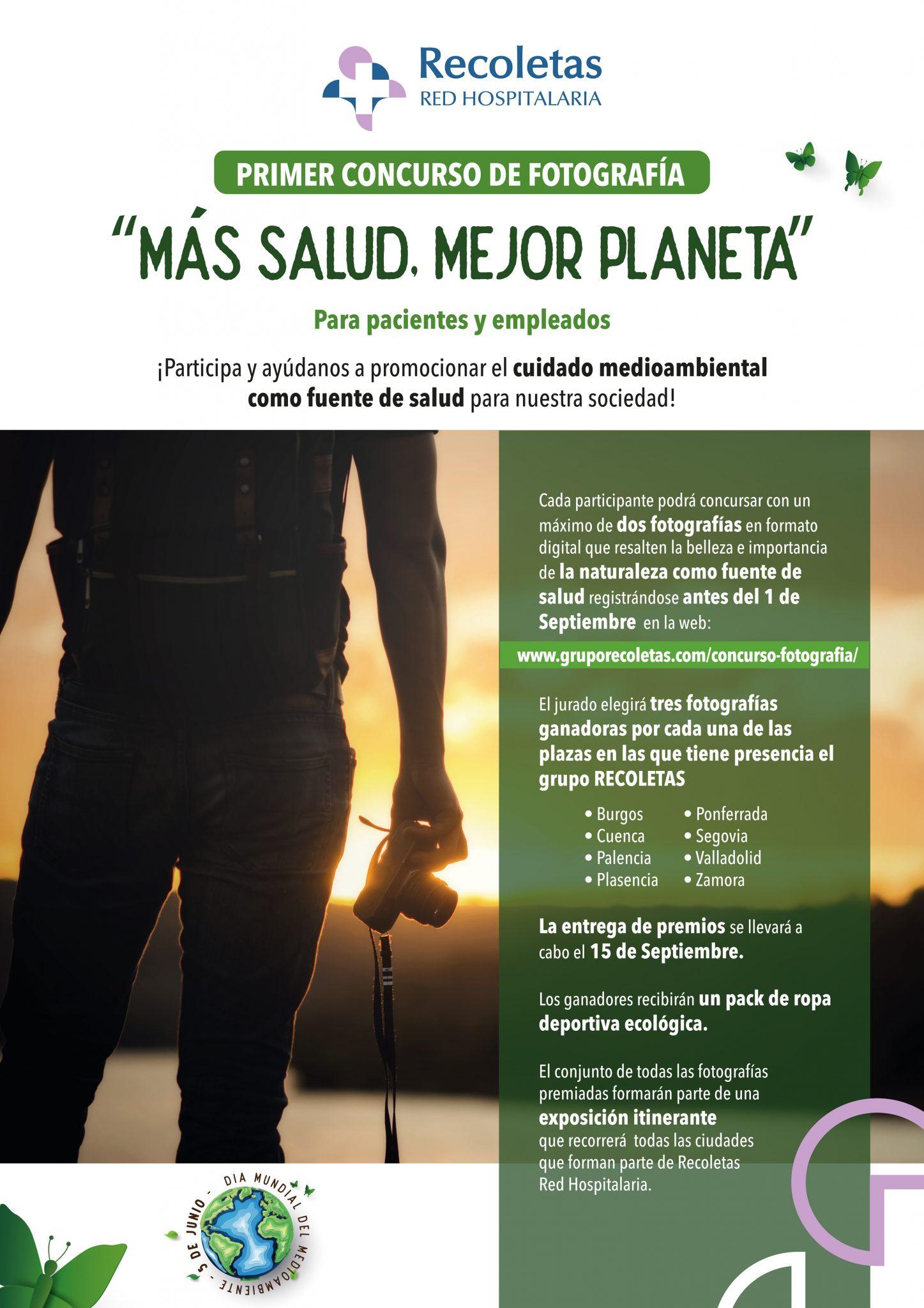 Clínica Ponferrada convoca un concurso de fotografía con motivo del Día Mundial del Medio Ambiente 2