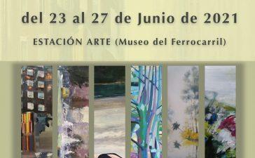 Exposición colectiva de pintores bercianos en Estación Arte 7