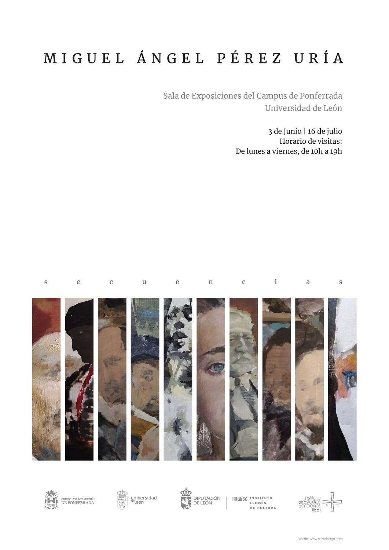 Exposición 'SECUENCIAS' Del pintor Miguel Ángel Pérez Uría en el campus de la Universidad 2