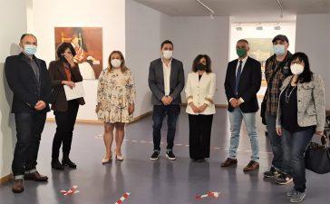 Exposición 'SECUENCIAS' Del pintor Miguel Ángel Pérez Uría en el campus de la Universidad 6