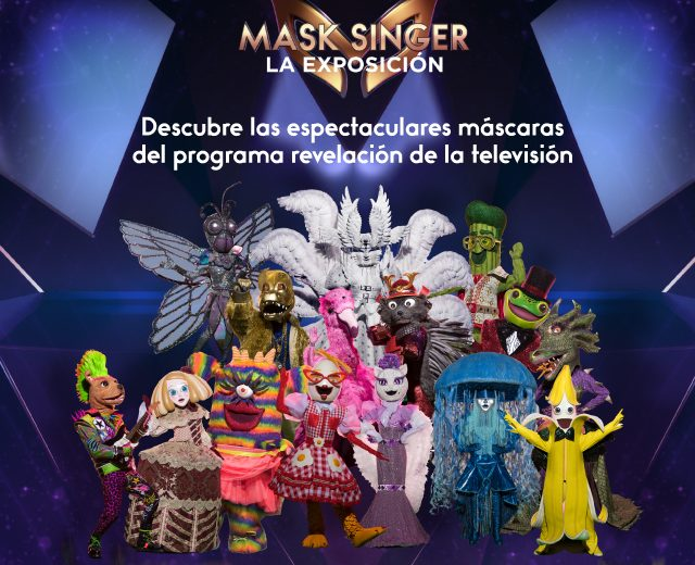 La exposición 'MASK SINGER' adivina quién canta desembarca este verano en El Rosal 1