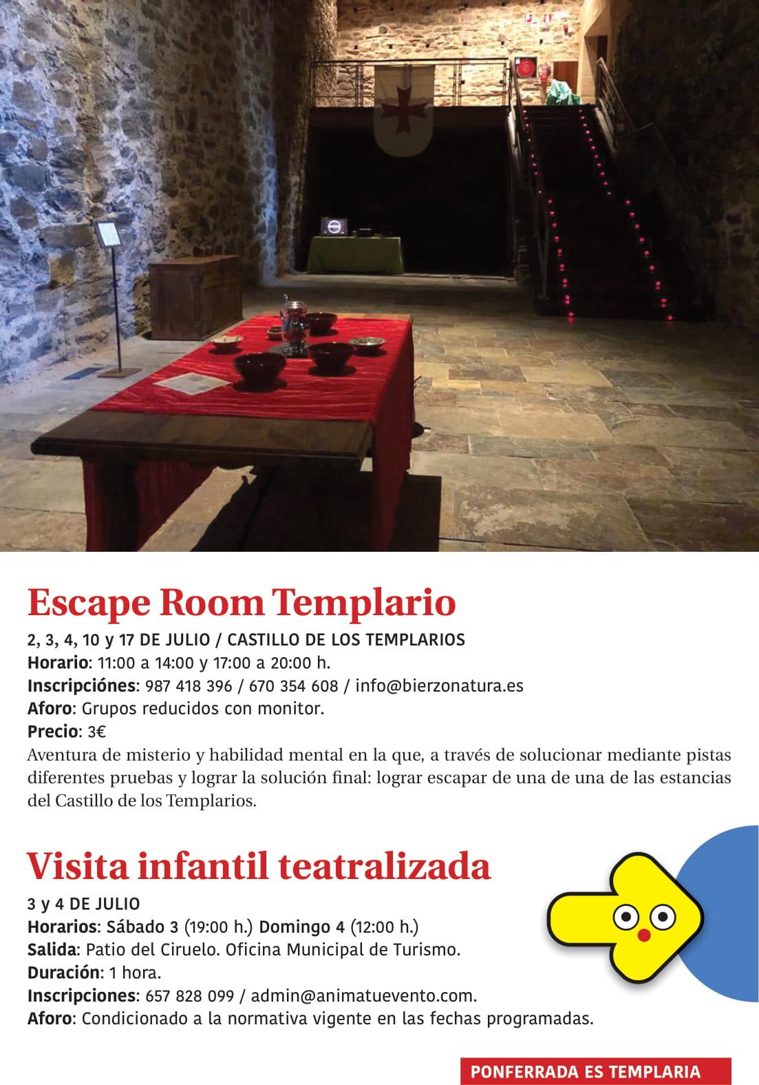 Ponferrada será... música, cultura, monumentos, turismo y más durante el verano de 2021 7