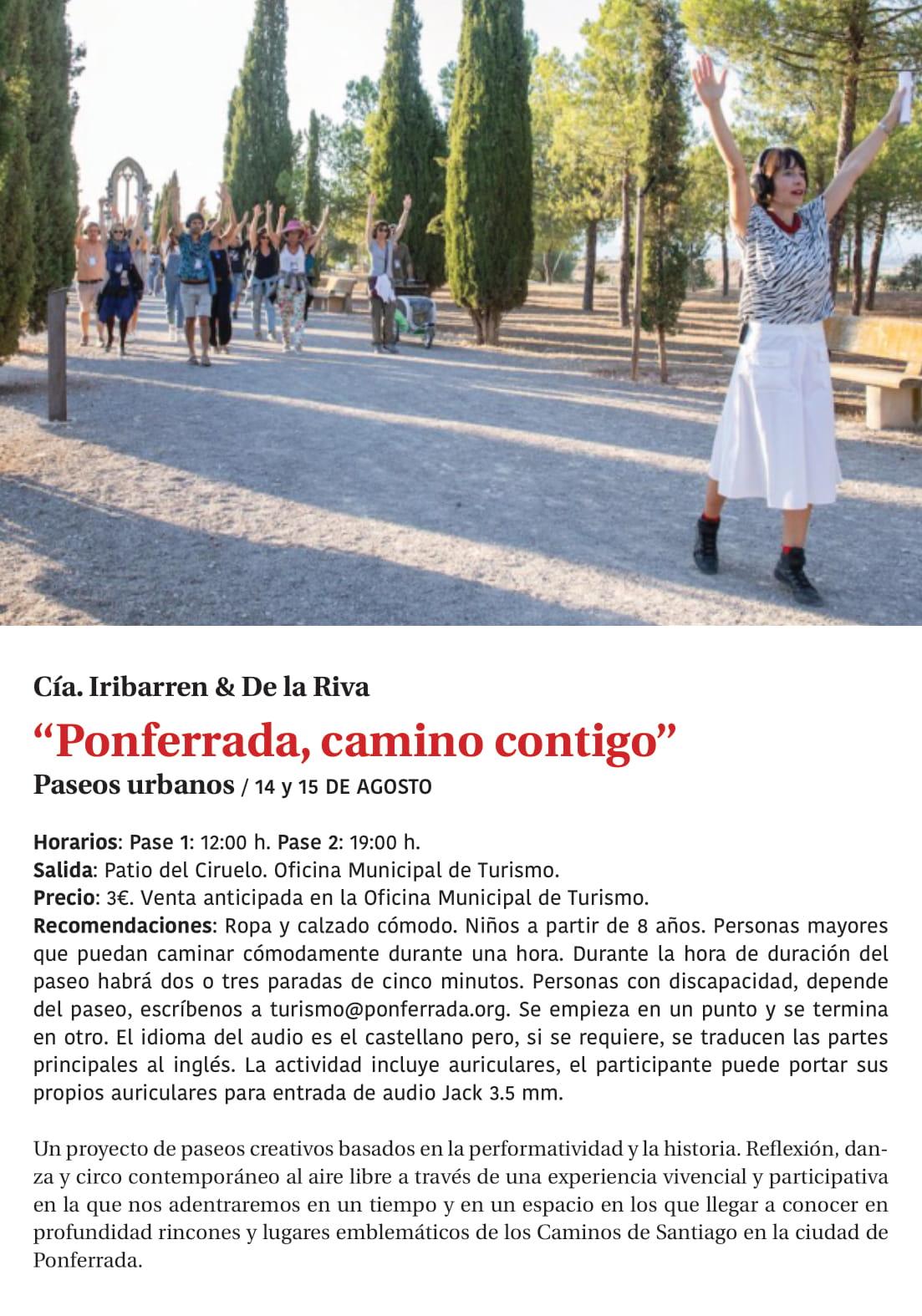 Ponferrada será... música, cultura, monumentos, turismo y más durante el verano de 2021 10