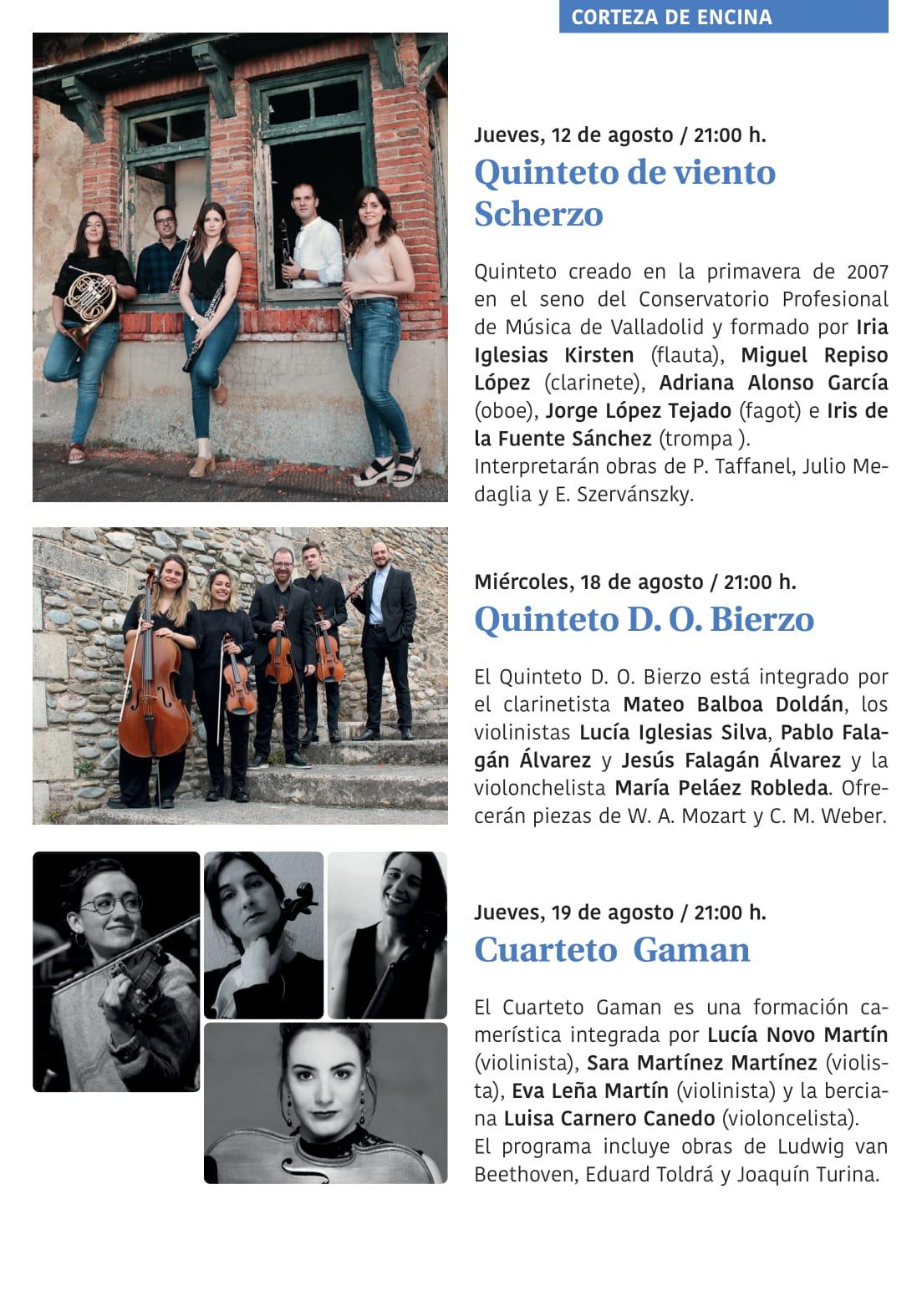Ponferrada será... música, cultura, monumentos, turismo y más durante el verano de 2021 22