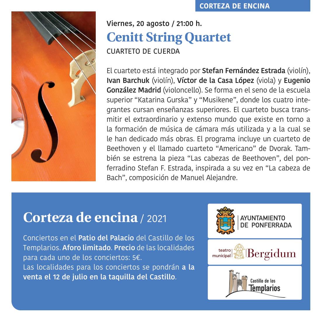 Ponferrada será... música, cultura, monumentos, turismo y más durante el verano de 2021 23