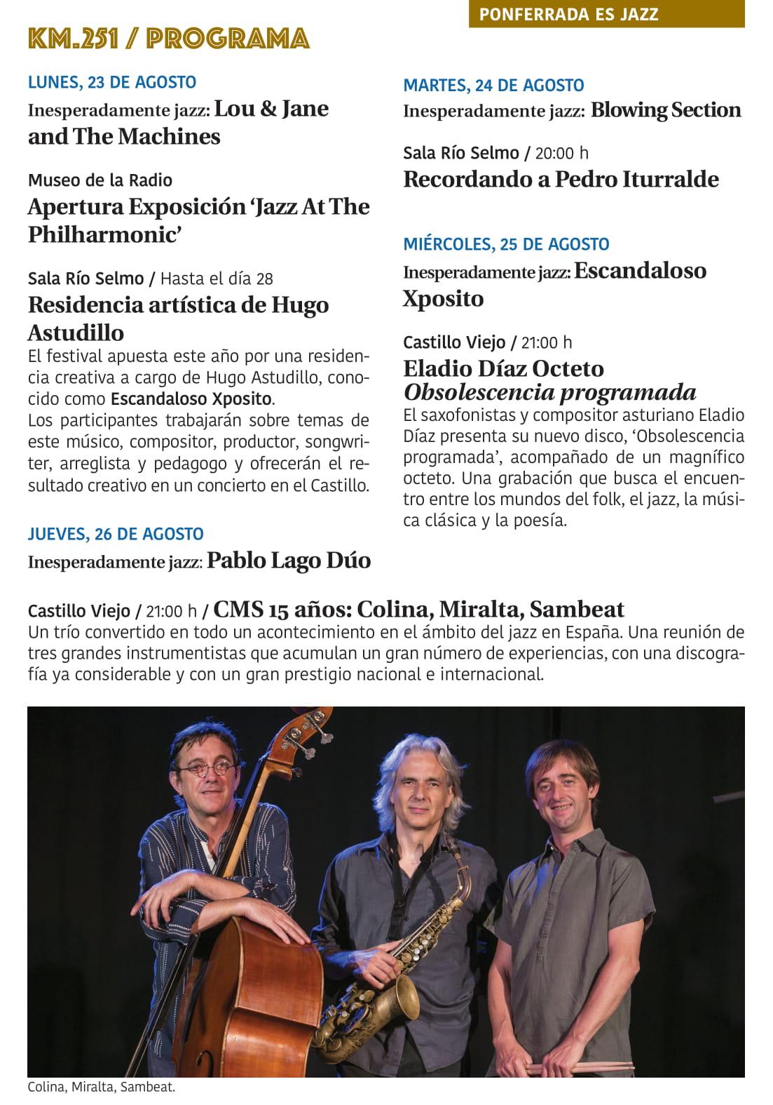 Ponferrada será... música, cultura, monumentos, turismo y más durante el verano de 2021 25